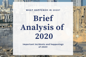 2020 at a glance - Important incidents of 2020
